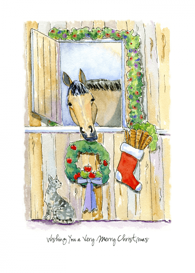 Horse with Wreath