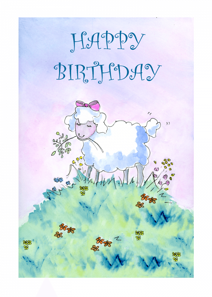 Birthday Lamb