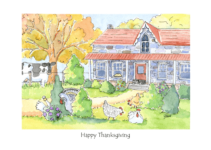 Thanksgiving on the Farm
